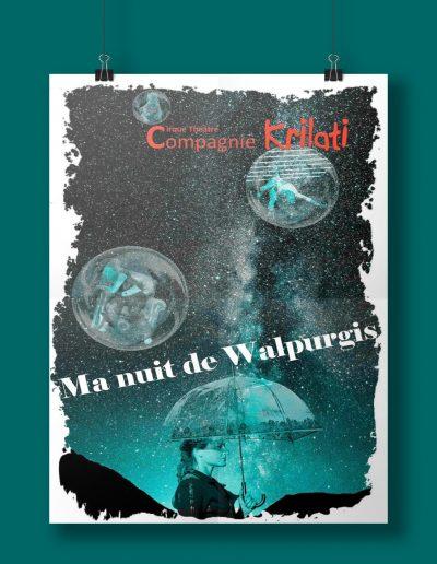 Affiche Ma nuit de Walpurgis