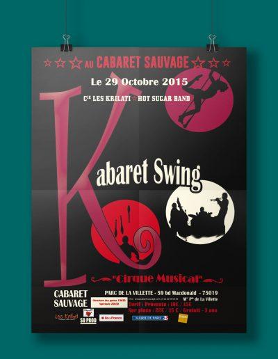 Affiche Kabaret Swing